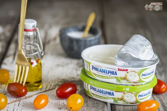 Die beste Tomatentarte mit Philadelphia Mediterrane Kräuter