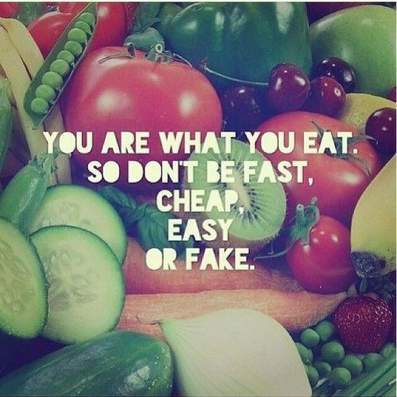 Love! My trainer says this! 70% diet (healthier eating) & 30% exercise! Abs are made in the kitchen! #youarewhatyoueat: