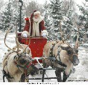 Reindeer Sleigh Ride ... with Santa