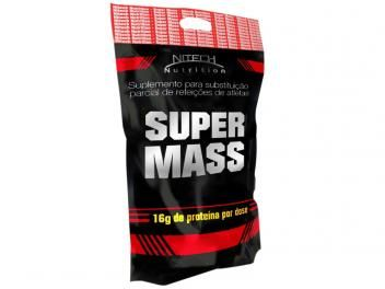 Refil Super Mass Hipercalórico 3Kg Chocolate - Nitech Nutrition