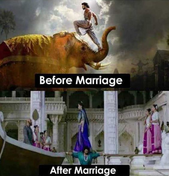 20 Funny Memes about after Marriage Life