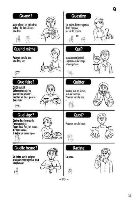 Dictionnaire 1200 Signes La Langue Des Signes Francaise Commelasolitudeestgrandequandonestseulaumonde Over Blog Com Signes Francais Langue Des Signes Langue Des Signes Francaise