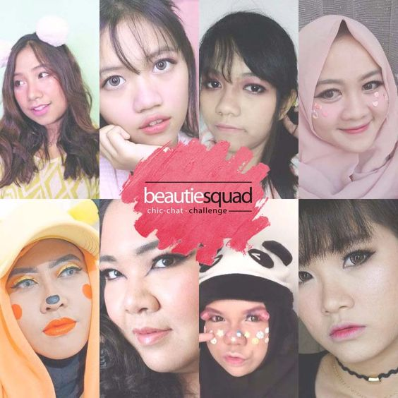 Japanese Makeup in collaboration with Beautiesquad