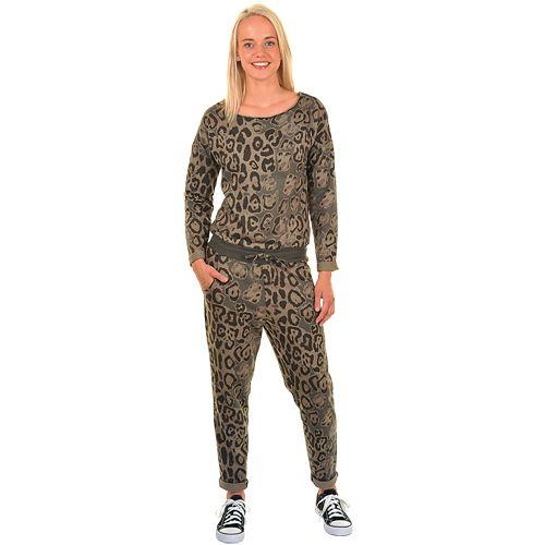 ds jumpsuit leopard poly/kat xs-xl