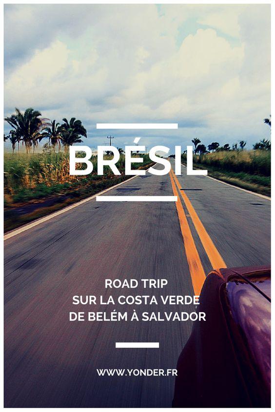 Brésil : road trip sur la Costa Verde de Bélem à Salvador / Yonder