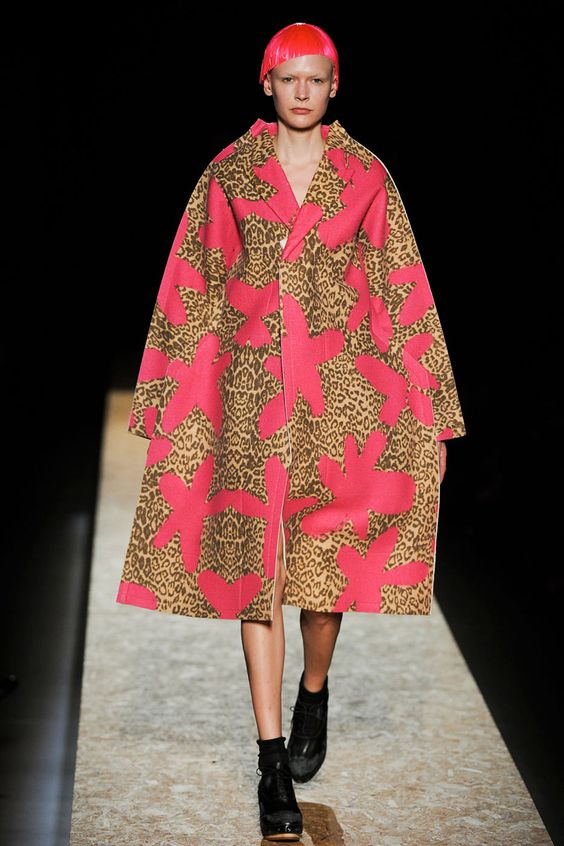 pink & cheetah, Comme des Garcons Fall 2012 RTW
