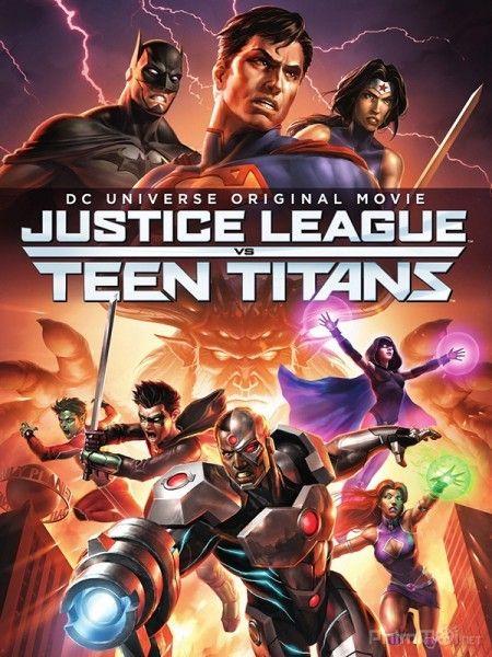 Phim Liên Minh Công Lý đụng độ nhóm Teen Titans
