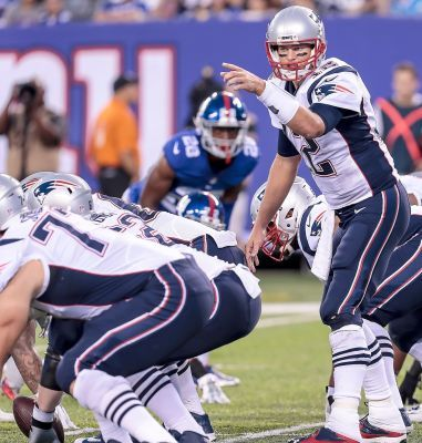 Glauber: Brady plays before being spectator