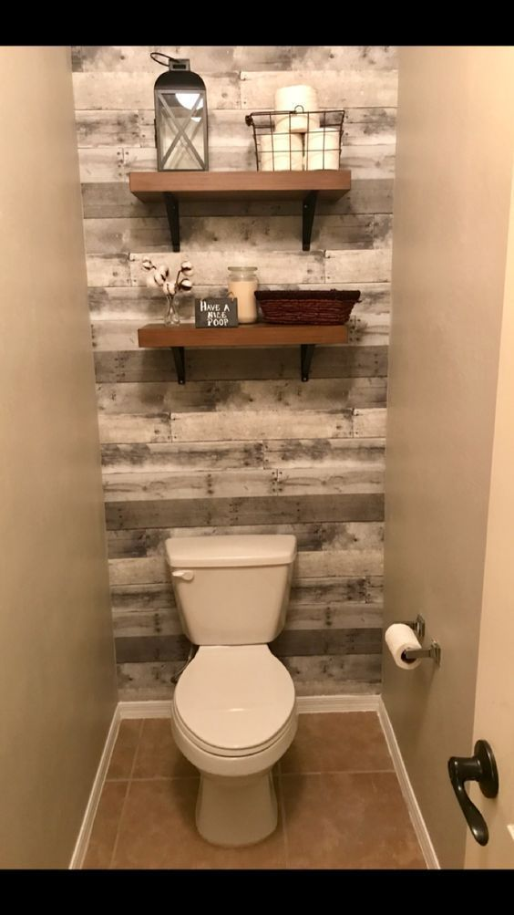 Modern Farmhouse Custom Vanity Distressed With Stained Top In 2020 Bathroom Design Small Bathroom Makeovers On A Budget Small Master Bathroom