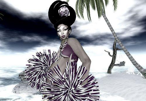 http://www.hairbraidingnetwork.com/sponsor-and-advertise/  Cheerleader..Princess of the Bimbo world :)
