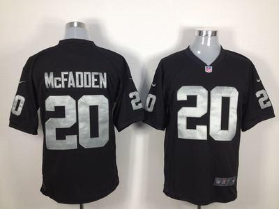 $22 for Men's Nike NFL Oakland Raiders #20 Darren McFadden Game Black Jersey. Buy Now! http://55usd.com/Men-s-Nike-NFL-Oakland-Raiders--20-Darren-McFadden-Game-Black-Jersey-productview-121085.html #NFL #Nike #Oakland_Raiders #Oakland_Raiders #Jersey #55USD