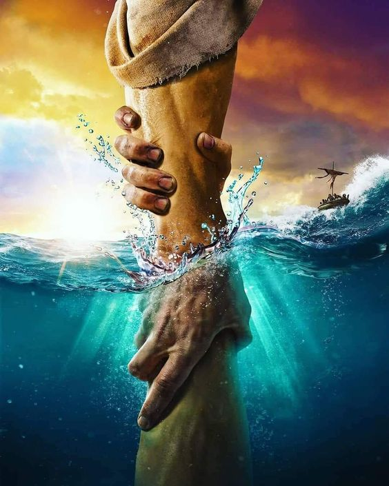 The directional love of God keeps us from sinking. Keep our heart's set on the Voice of His Son Jesus Christ. God Bless YOU!!!!