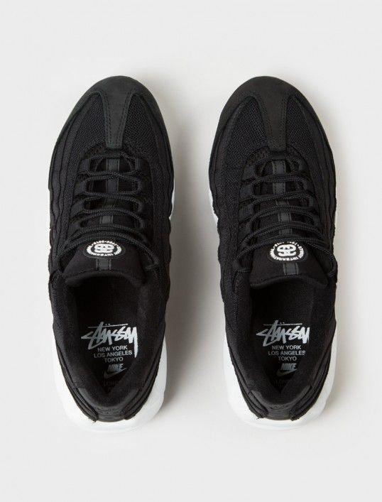 buy popular 1013f 7ee0b Nike Air Max 95 Stussy Black minmage.nu
