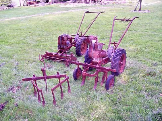 Vintage Garden Tractor Plow : Wheel walk behind tractor google search small scale