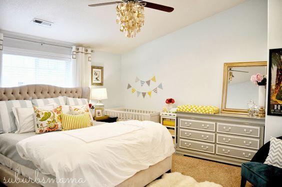 Crear Un Espacio Para El Bebé En Tu Habitación Decoracionbebes Es Muebles Habitacion Bebe Decoracion Habitacion Matrimonial Decoracion Habitacion Matrimonio
