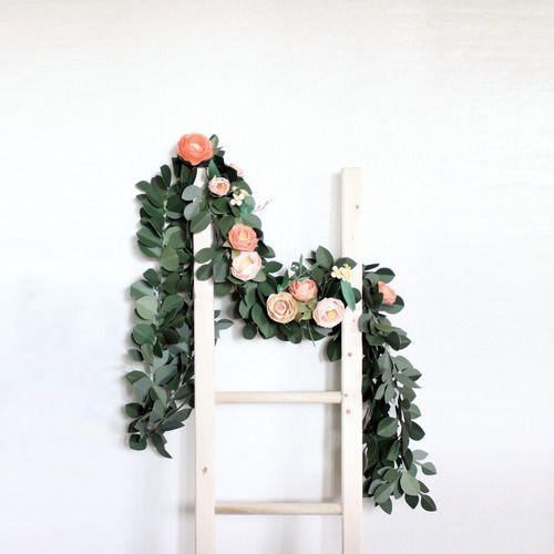 Handmade Paper garland by Sara Kim