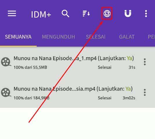 Cara Menggunakan Idm Di Hp Android Mudah Sekali Aplikasi Android Smartphone