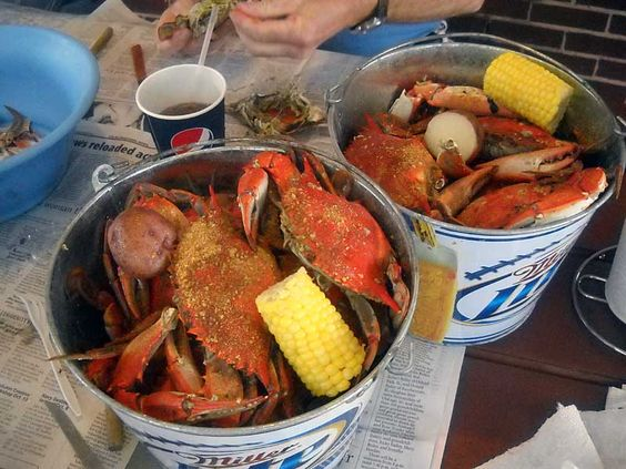 20$ all you can eat blue crab buckets, peace river seafood.... i will come to florida and put you out of business one day