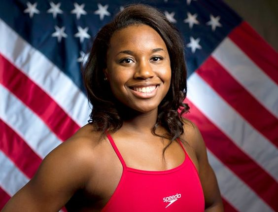 Simone Manuel - First African-American Olympic swimmer to win a gold medal in history