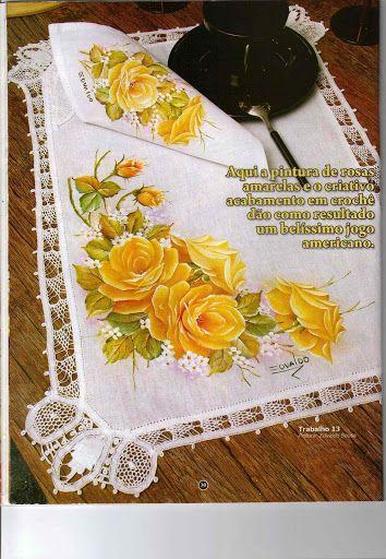 Criando Arte Pintura em Tecido Nº - Marina - Веб-альбомы Picasa