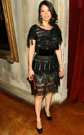 See-Through Spirit from Fashion Police  Lucy Liu always manages to show up in…