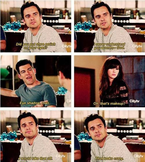 """New Girl"" - Nick knows where it's at."