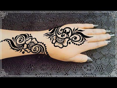 طريقة عمل الحنة السودانية سوداء Sudanese Black Henna Youtube Hand Henna Black Henna Henna Hand Tattoo