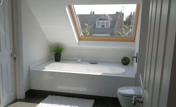 Bathroom layout loft bathroom and loft on pinterest for Bathroom ideas loft conversion