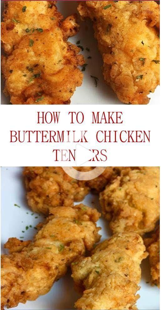 Dit Is Het Maken Karnemelk Kippenoffertes Recept Of Hoe Je Gebakken Kip Aanbestedingen Zonder Karnemelk Volg Deze In 2020 Yummy Chicken Recipes Chicken Tender Recipes