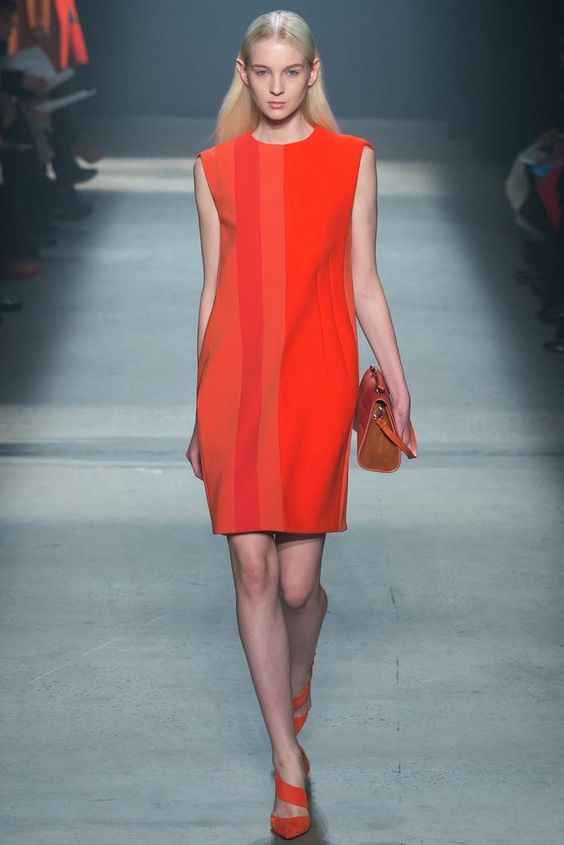 New York Fashion Week: Narciso Rodriguez. Fall 2014.