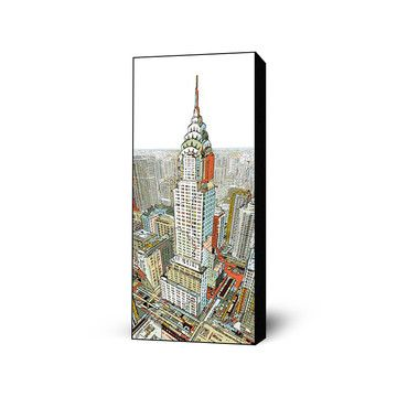 Manhattan Art Block 16x40 now featured on Fab.