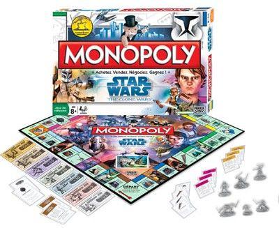Monopoly clone wars