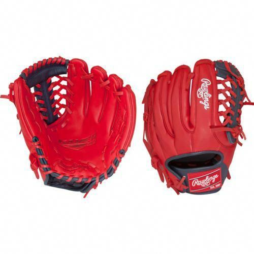 Rawlings Gamer Xle 11 5 In Pitcher Infield Baseball Glove Navy Bright Red Baseball Equipment Softball Baseball Gloves And Mitts At Academy Sports Baseballeq