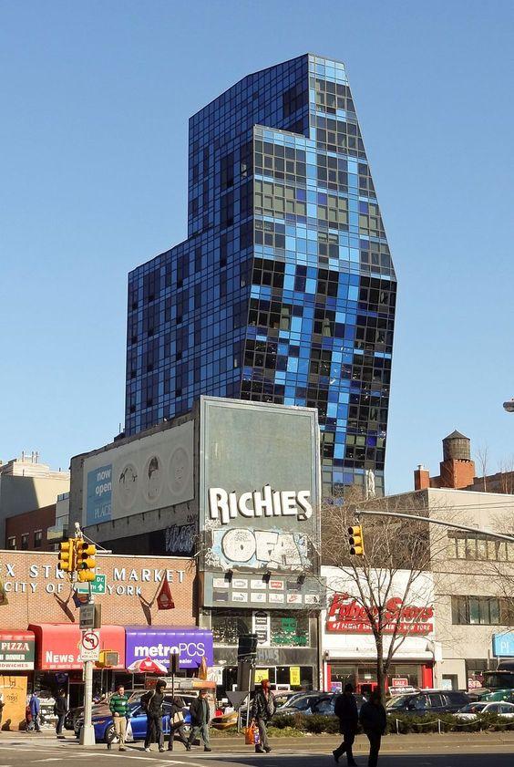 Blue Condominium Tower - Bernard Tschumi - Wikipedia, the free encyclopedia