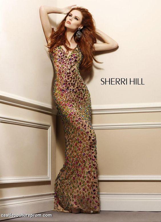 Sherri Hill Prom Gowns and Dresses for 2016 Sherri Hill 2951 Sherri
