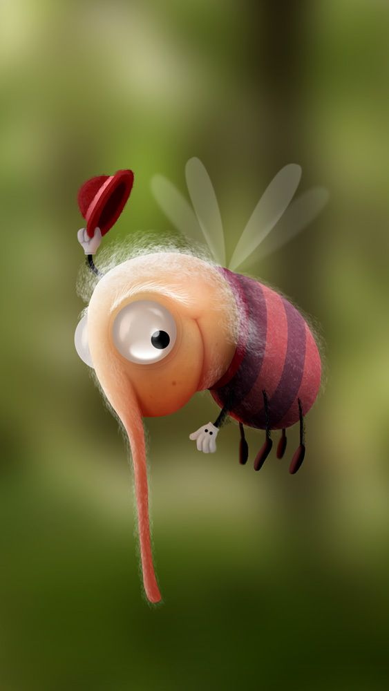 Просмотреть иллюстрацию Bug из сообщества русскоязычных художников автора Alexander Skachkov в стилях: 2D, нарисованная техниками: Другое.