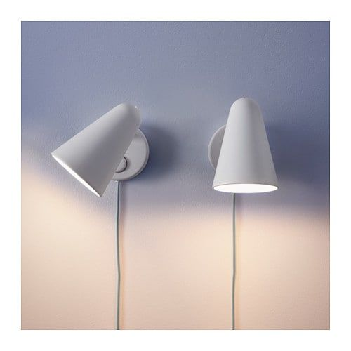 Fubbla Led Wall Lamp White Ikea Led Wall Lamp Wall Lamp Ikea Wall Lights