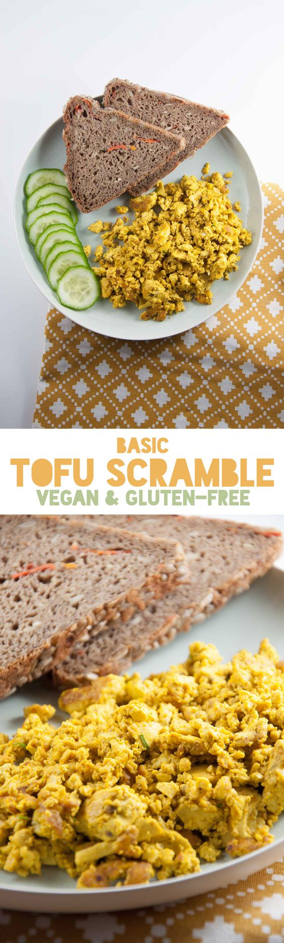 Tofu scramble, Tofu and Vegans on Pinterest