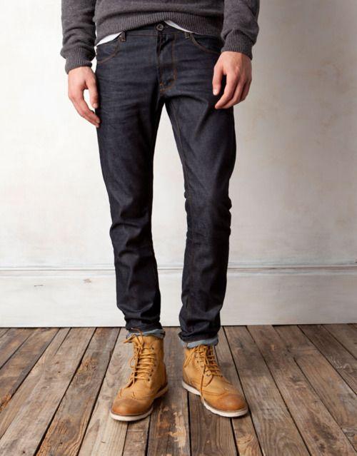 denim + boots