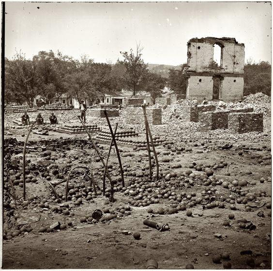 Ruins of Richmond Arsenal