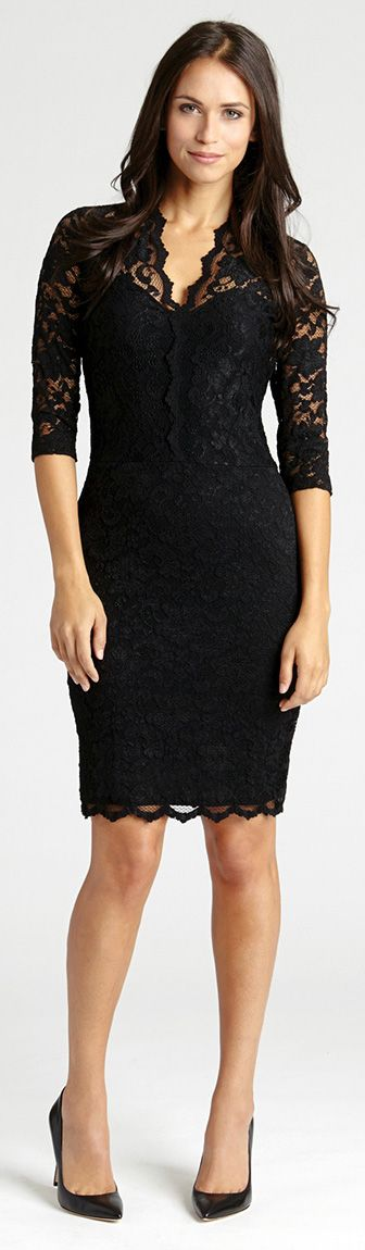 The perfect lace dress -- nothing beats a classic little ...