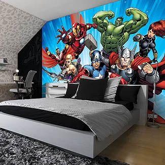 Poster mural intissé AVENGERS 208 x 146 cm