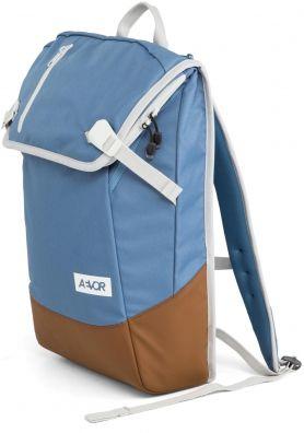 Aevor! Die angesagte neue Marke aus Köln. Daypack in schicker farbkombi Fliederblau mit warmen braun <3