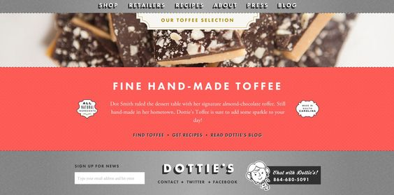 Dotties Toffee