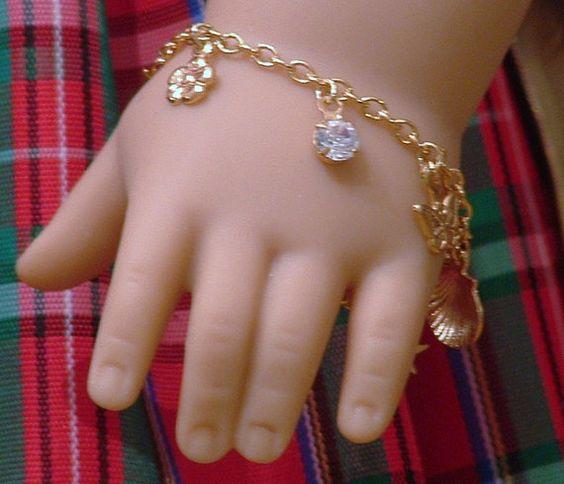 Charm /Bracelet für amerikanisches Mädchen von MyGirlClothingCo