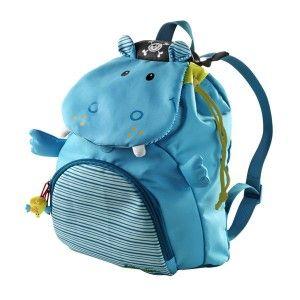 Mochila de Arnold el hipopótamo de @lilliputiens