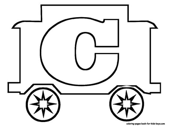 caboose coloring pages printable coloring coloring pages Train Caboose Template  Caboose Coloring Pages Printable