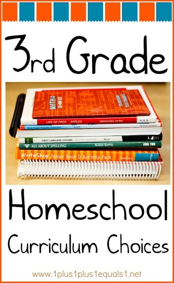 3rd Grade Homeschool Curriculum Choices from www.1plus1plus1equals1.net