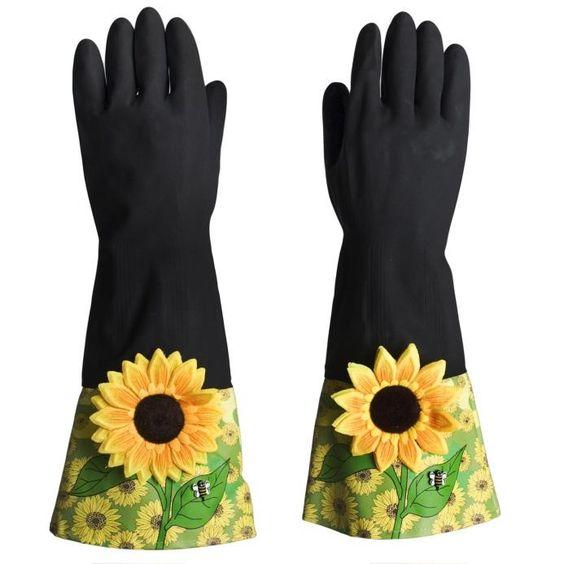 cdg150 gants de vaisselle ou de m nage tr s originaux 15 vaisselle cuisine pinterest. Black Bedroom Furniture Sets. Home Design Ideas