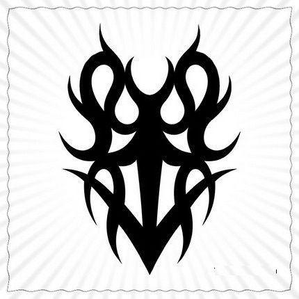 tribal tattoo meaning family tattoos pinterest. Black Bedroom Furniture Sets. Home Design Ideas